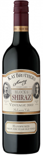 Kay Brothers Shiraz Amery Vineyards Block 6 2012 750ml